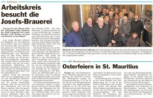 PM Glocke, AK Inklusion in der Josefsbrauerei Olsberg 01.04.2015