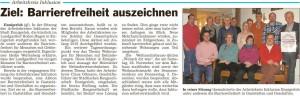 PM Glocke AK Inklusion im Hohen Hagen