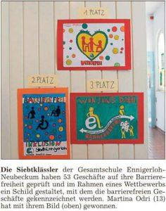 PM Glocke - Abschlussveranstaltung Barrierefrei - Foto 1. Preis 05.05.2016